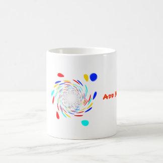 Colorfull Swirl Pattern Mugs