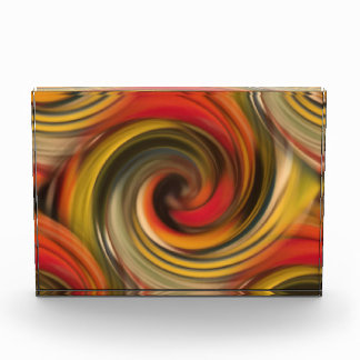 Colorfull swirl pattern with black hole award