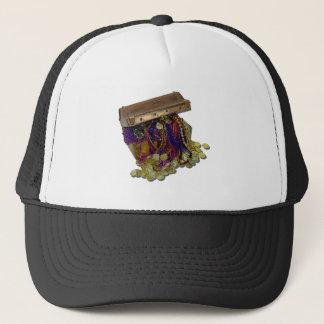 ColorfulPirateTreasureGoldCoins110511 Trucker Hat