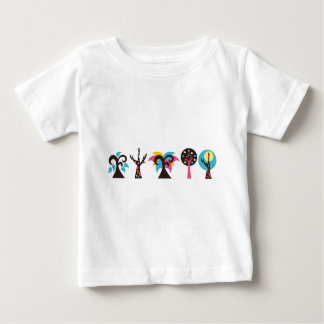 ColorfulTrees4 Baby T-Shirt