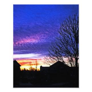 Colorfun Sunrise in Cincinnati Photo Art