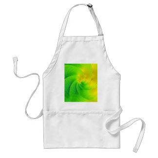 colorgame yellow and green created by Tutti Adult Apron