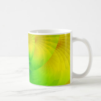 colorgame yellow and green created by Tutti Coffee Mug