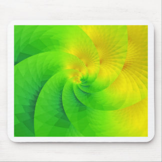 colorgame yellow and green created by Tutti Mouse Pad