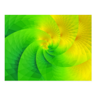 colorgame yellow and green created by Tutti Postcard