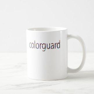 colorguard coffee mug