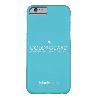 Colorguard moderno: Memorias del trabajo en equipo Funda Para iPhone 6 Barely There