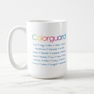 Colorguard personalizó tazas