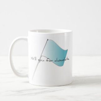 "Colorguard ""Will spin for chocolate"" Coffee Mug"