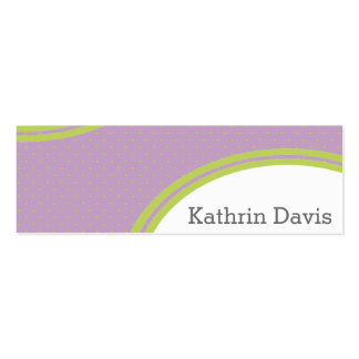 Colori Pastello Calling Double-Sided Mini Business Cards (Pack Of 20)