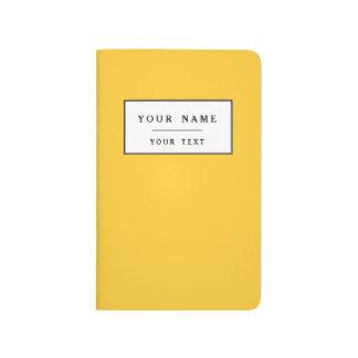 Colorido brillante amarillo de Sunglow Cuadernos