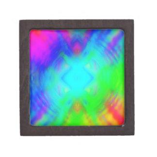 colorido chillón cajas de recuerdo de calidad