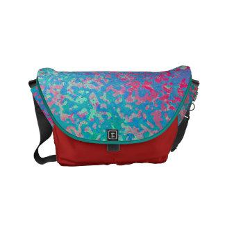 Colorido de la bolsa de mensajero del carrito bolsas de mensajería