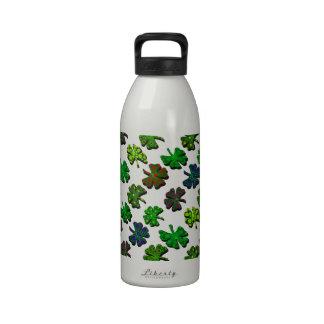 colorido del color de la U-selección adornado 4 tr Botella De Agua