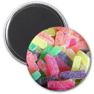 Colorido dulce del caramelo imán para frigorífico