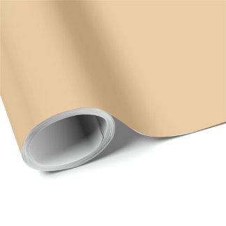 Colorido exclusivo del oro pálido papel de regalo