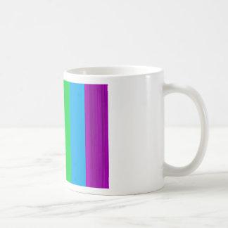 Colorido fluorescente tazas
