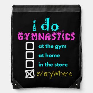 Colorido - hago la gimnasia por todas partes mochila