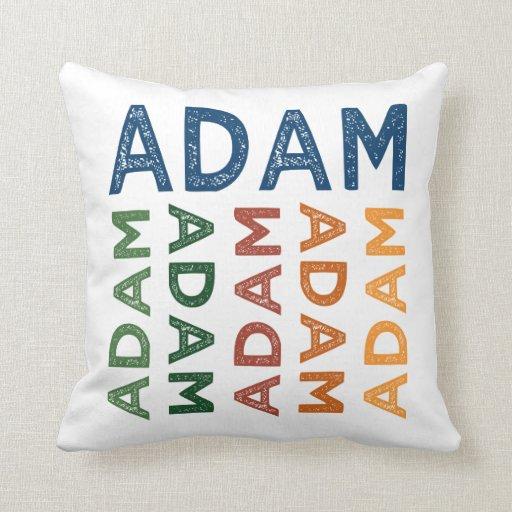 Colorido lindo de Adán Almohadas