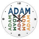 Colorido lindo de Adán Reloj