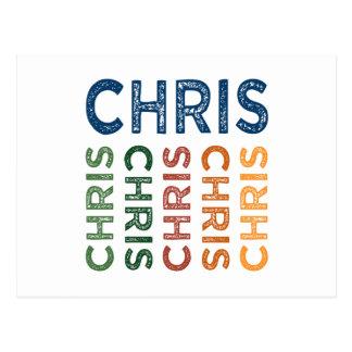 Colorido lindo de Chris Postal