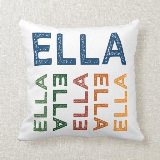 Colorido lindo de Ella Almohada