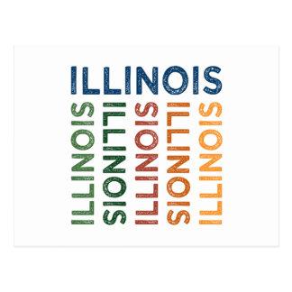 Colorido lindo de Illinois Postal