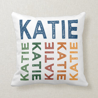 Colorido lindo de Katie Cojín Decorativo