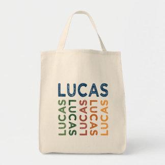 Colorido lindo de Lucas Bolsa Tela Para La Compra