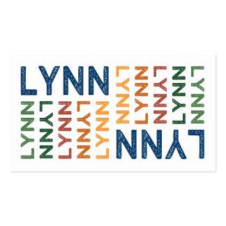 Colorido lindo de Lynn Tarjetas De Visita