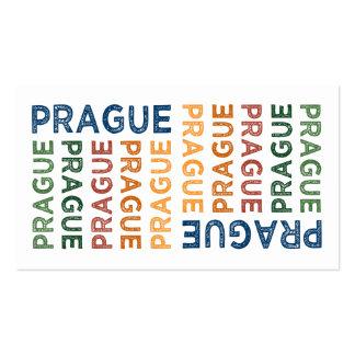 Colorido lindo de Praga Tarjetas De Visita