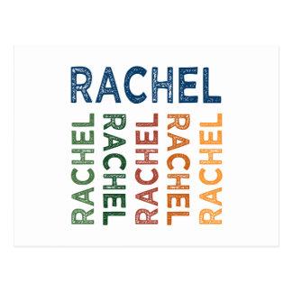 Colorido lindo de Raquel Tarjetas Postales