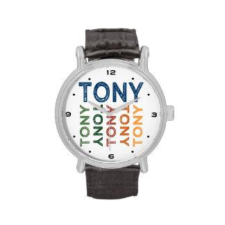 Colorido lindo de Tony Reloj