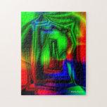 Colorido loco puzzles con fotos