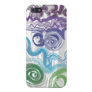 Colorido maravilloso iPhone 5 protector