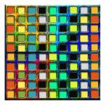 Colorido Rejilla-Tejado Fotos
