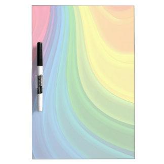 Colorido seque a los tableros de mensajes del borr pizarra blanca