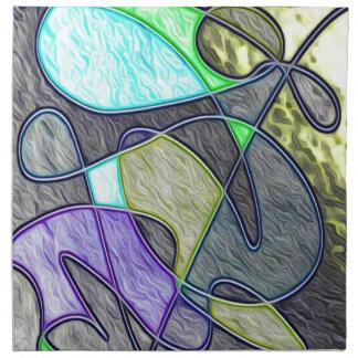 colorido tragada servilletas de papel