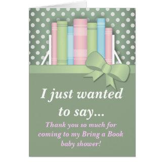 Colorido traiga una fiesta de bienvenida al bebé d tarjeta