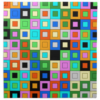 coloridos de padrão de quadrados