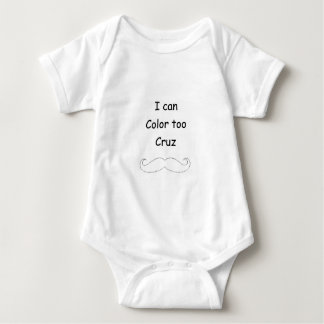 Coloring Cruz Baby Bodysuit