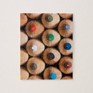 Coloring Pencils 8x10 Photo Jigsaw Puzzle