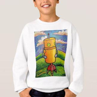 Coloring Robot Sweatshirt