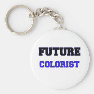 Colorist futuro llavero redondo tipo pin