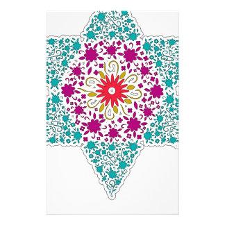 Colorized Star of David Seal design in Jerusalem Stationery