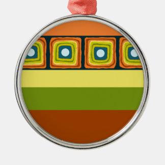 Colorofic Mirrors Metal Ornament