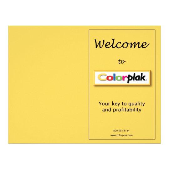 colorplak pricing flyer zazzle com