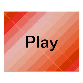 Colorplay Gold Artist Inspiration Poster PLAY