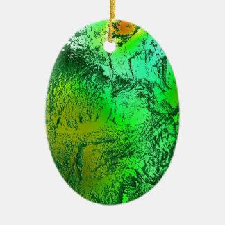 Colors 05-2015 A.png Ceramic Ornament