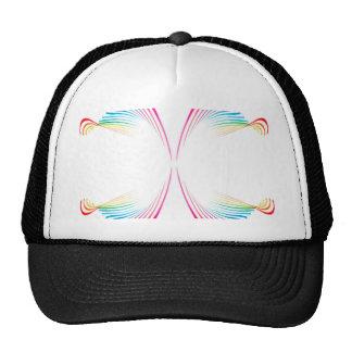 colors 1.jpgrainbow pastel colors waves design trucker hat
